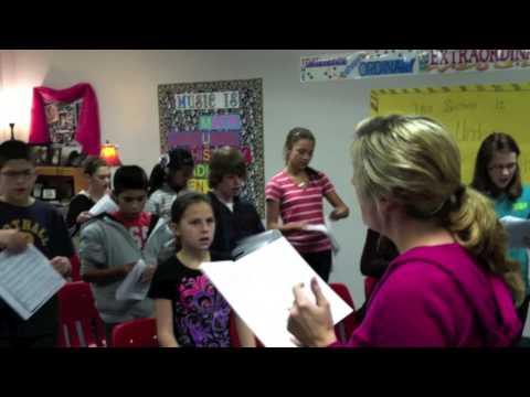 Brownwood Intermediate School choir