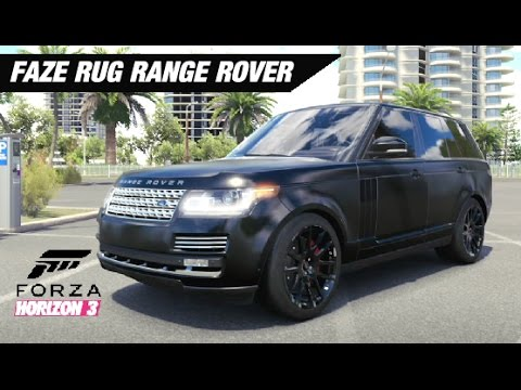 Faze Rug Range Rover >> Faze Rug's Wrapped Range Rover Build - Forza Horizon 3 - Asurekazani