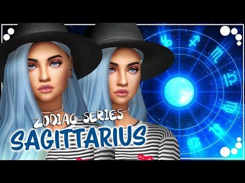 SAGITTARIUS ♐⭐ + CC LIST! - ZODIAC SIGNS SERIES | The Sims 4 | Create a Sim