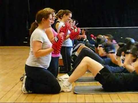 Boxercise Class from Body-Fix Health & Fitness