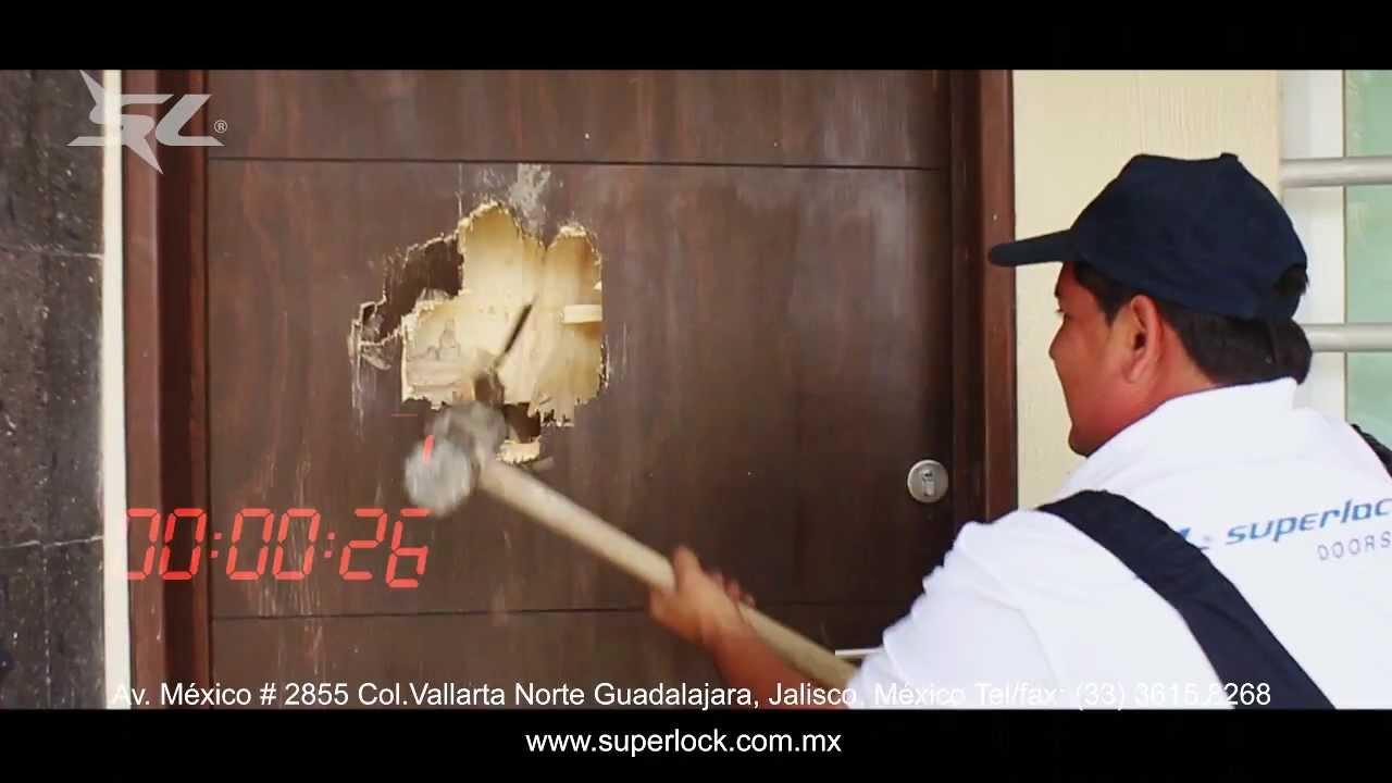 Puertas de seguridad youtube - Cerrojos de seguridad para puertas ...