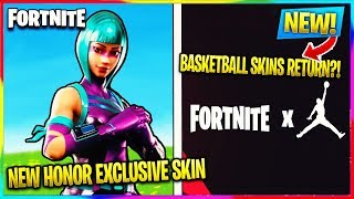 *NEW* HONOR VIEW EXCLUSIVE FORTNITE SKIN, NBA + FORTNITE CROSSOVER! | Fortnite Battle Royale News