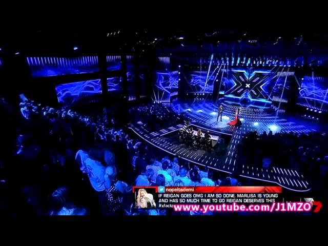 Marlisa vs. Reigan - Bottom Two Sing-Off - Week 10 - Live Decider 10 - The X Factor Australia 2014