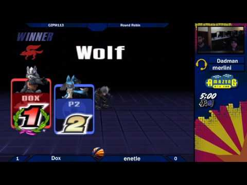 CZPM113 Round Robin: Dox (Wolf) vs Enetick (Lucario)
