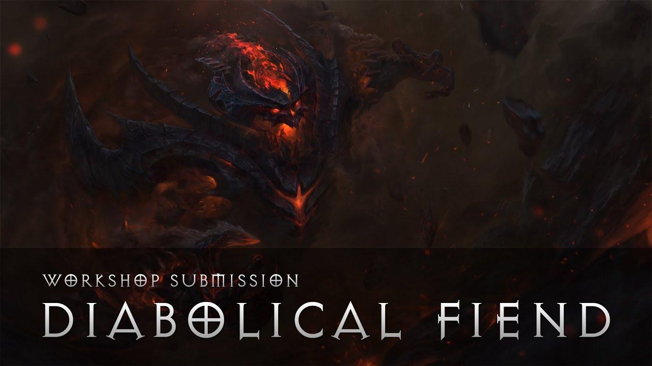Dota 2 Diabolical Fiend SF Set