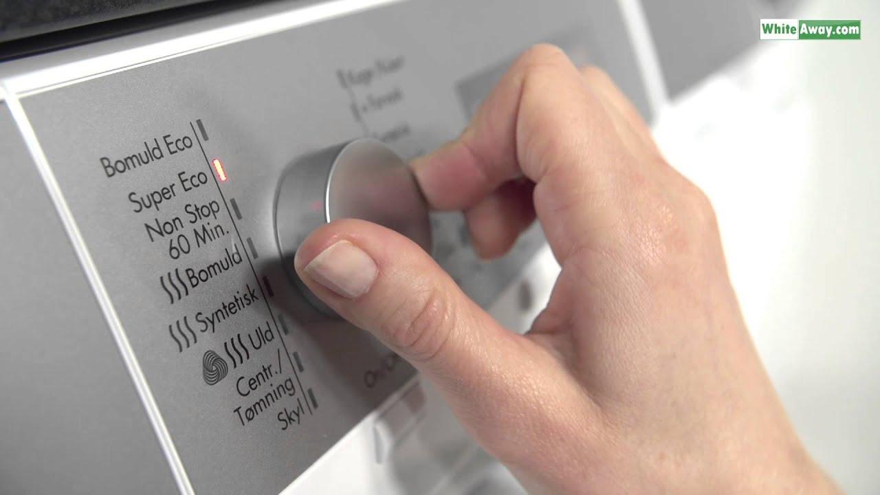 afkalkning af vaskemaskine aeg