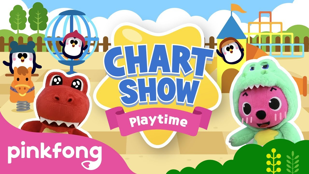 Lets Have Some Fun | Pinkfong Baby Shark Chart Show | Pinkfong Show for Children