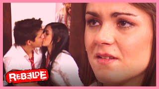 Rebelde: ¡Teo engaña a Jose Luján con Raquel! | Escena C293-C294-C295 | Tlnovelas