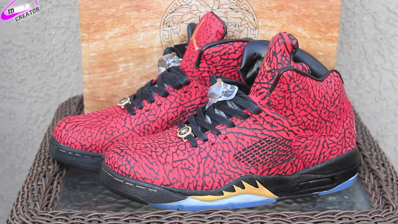 60cb817e0d15 Nike Air Jordan 3LAB5 Versace Custom. What   - YouTube