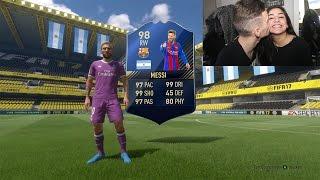 FIFA 17 FREUNDIN ZIEHT MESSI IM PACK!!! 😱⛔️ PhineasFifa