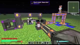 Mekanism Tutorial - Infinite Power using the Hydrogen Generator