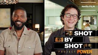 Jamie Foxx & Joseph Gordon-Levitt On Project Power's Escape Scene | Netflix