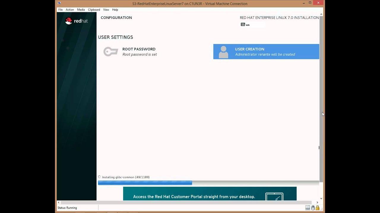 Step by Step: Installing Red Hat Enterprise Linux Server 7   Renante