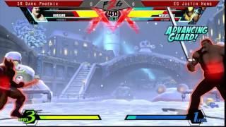 gamerbyte 2014 umvc3 sr dark phoenix vs eg justin wong