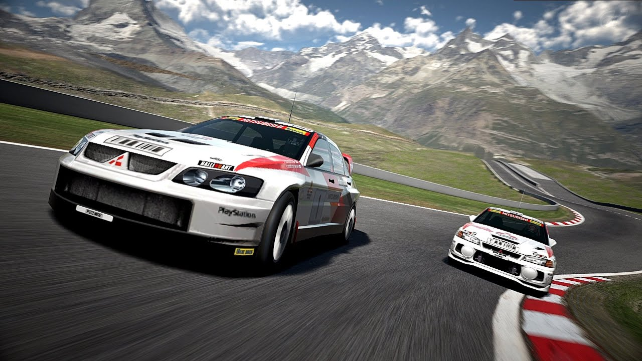 gran turismo 6 - mitsubishi lancer evolution super rally car '03