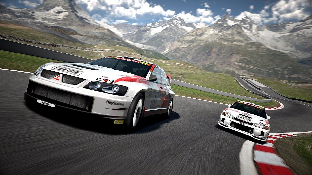 gran turismo 6 - mitsubishi lancer evolution super rally car '03