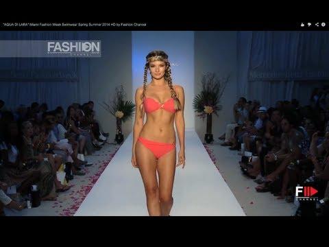 """Fashion Show """"AQUA DI LARA"""" Miami Fashion Week Swimwear Spring Summer 2014 HD by Fashion Channel"""