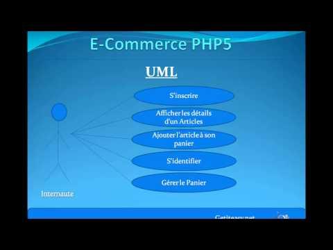 Create E-Commerce Web Site - Analyse Oriente Objet UML