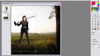 Hacer Fotomontaje con PhotoFiltre Studio X