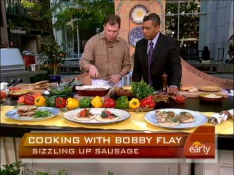 Bobby Flay's Sausage Recipes