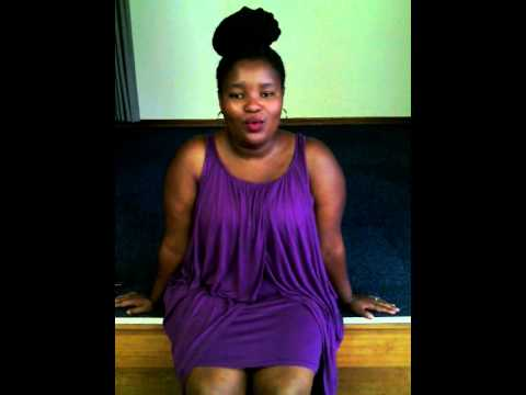Sinesipho Sonka singing Someone like you by Adele