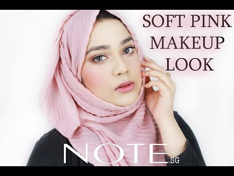 Soft Pink Makeup Look || Note Cosmetics Singapore