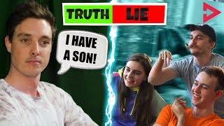 TWO TRUTHS AND A LIE CHALLENGE! Ft. Lazarbeam, Muselk, Loserfruit, Crayator and BazzaGazz ...