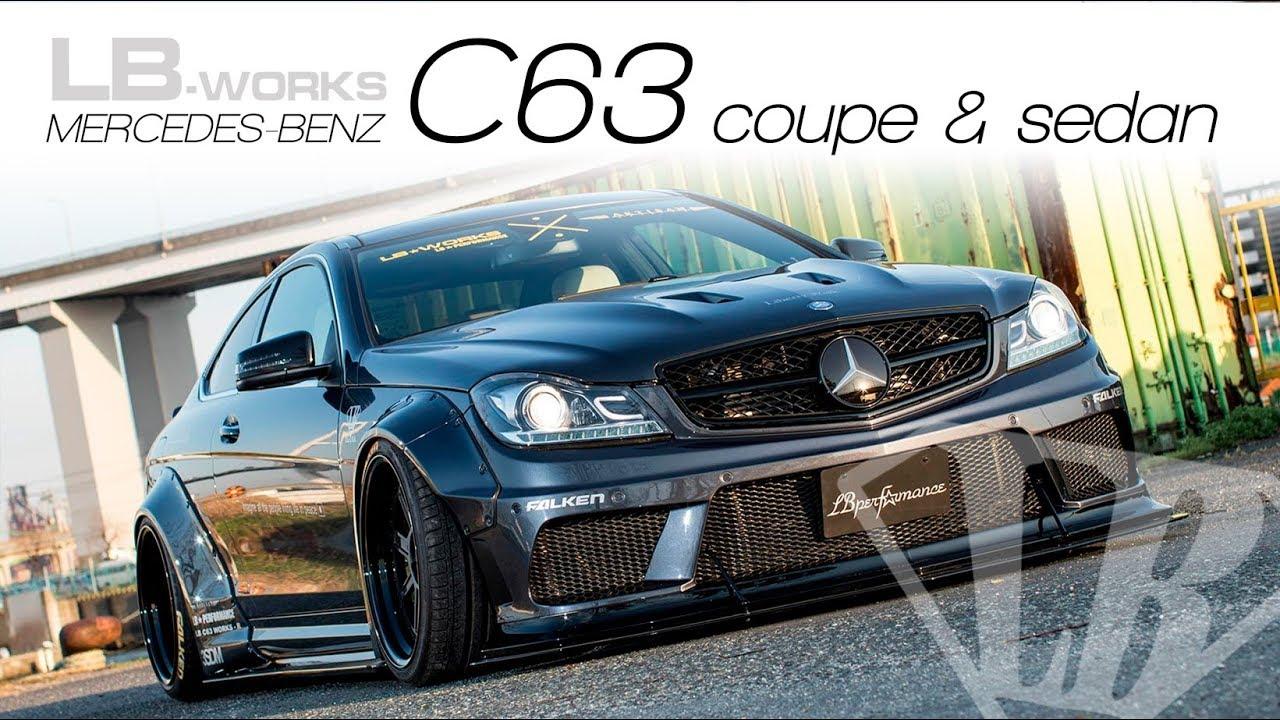maxresdefault LB-WORKS MERCEDES-BENZ C63 coupe & sedan  W204