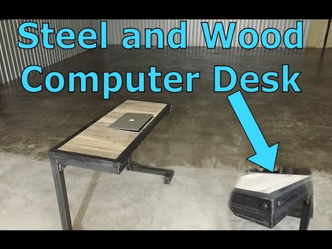 Custom Furniture - Steel+Wood Industrial Computer Desk - Dallas, TX 75201