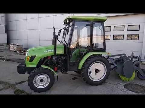 Новинка Трактор с кабиной DW 244DC ~ Ч. 1 ~ Купить по выгодной цене