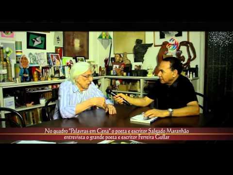 Palavras em Cena do Armazém Cultural o entrevistado é o poeta e escritor Ferreira Gullar