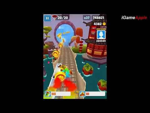 Subway Surfers Shanghai iPad Gameplay HD #9