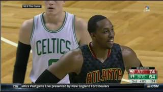 Dwight Howard ejected as heard on Celtics and Hawks broadcasts