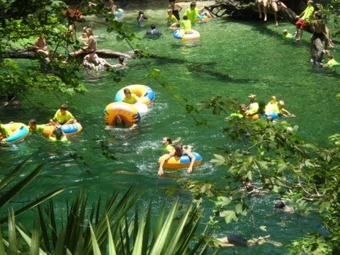 AMAZING TUBING AT BLUE SPRING STATE PARK FLORIDA PART 1 HD 360 POV