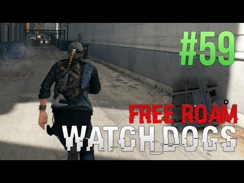 WATCH DOGS Free Roam Gameplay #59 - T-Bone Turn (WatchDogs Bad Blood Single Player Free Roam)
