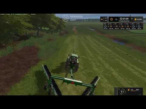 Farming Simulator 2017 Seasons:  The Hulk Visits Osceola!