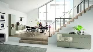 Слайд шоу о программе мебели для гостиной Tetrim от Hulsta. Сделано в Германии.
