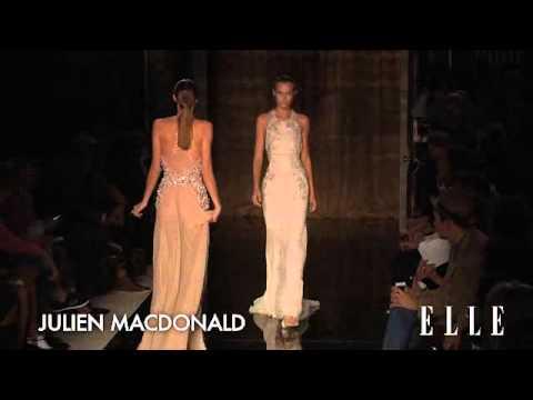 Julien Macdonald. London Fashion Week primavera verano 2014 | Elle España