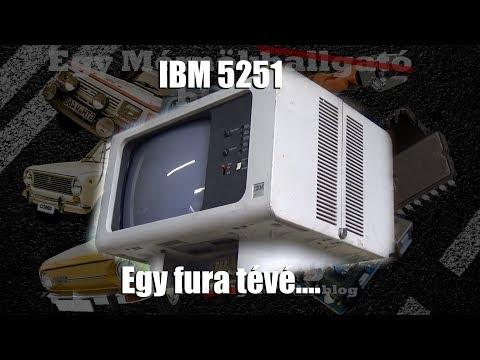 IBM 5251 - Egy fura tévé...