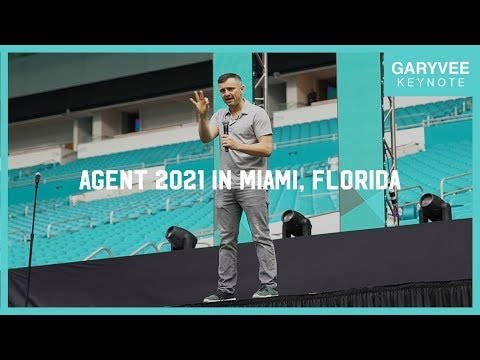 Why You Should Invest in Yourself on Social Media   Agent 2021 Keynote in Miami, Florida