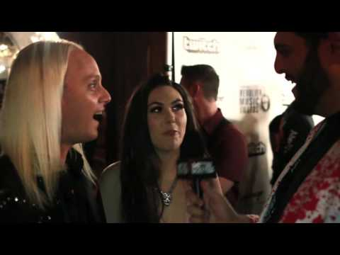 AMARANTHE Interview at Revolver Music Awards 2016   Metal Injection