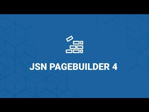 Introducing JSN PageBuilder 4 - Next Generation Joomla Page Builder