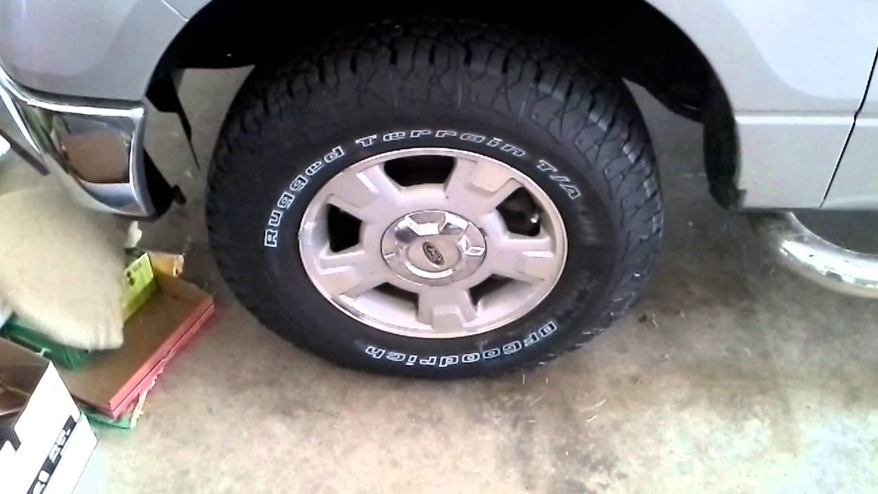 Bfgoodrich Rugged Terrain Tire Review