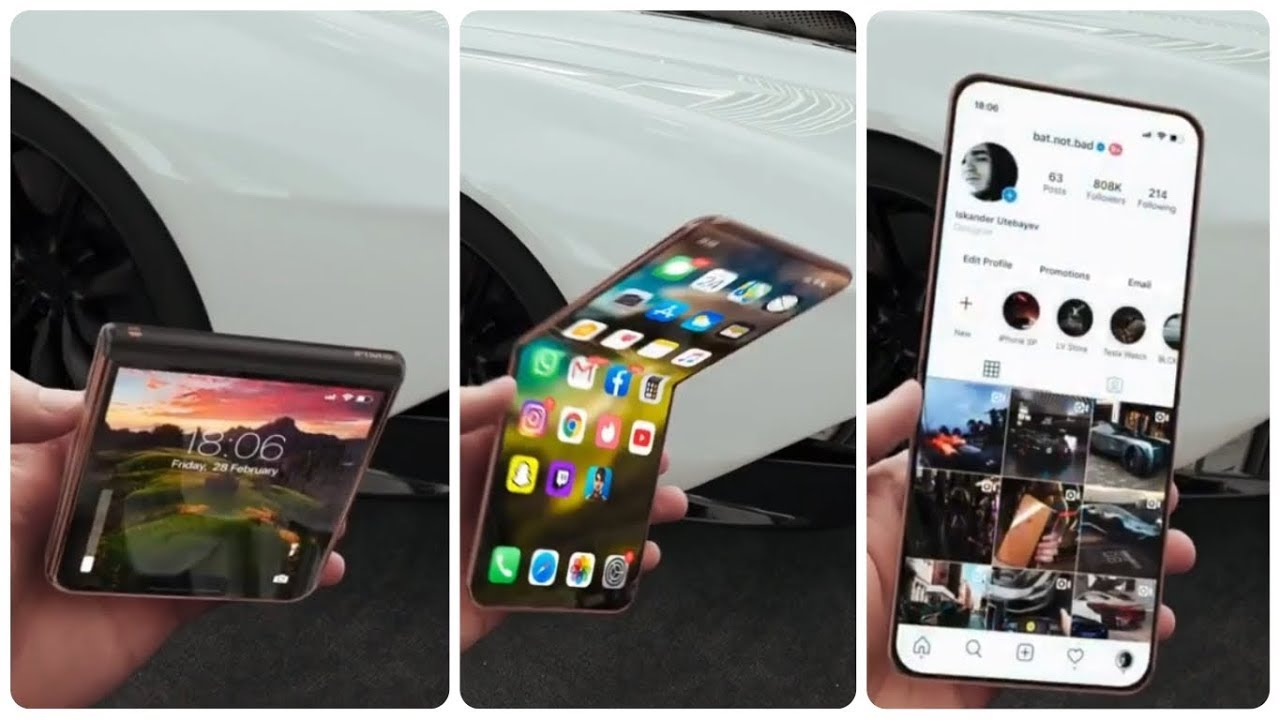 Iphone 12 Flip 2020 Prototype Youtube