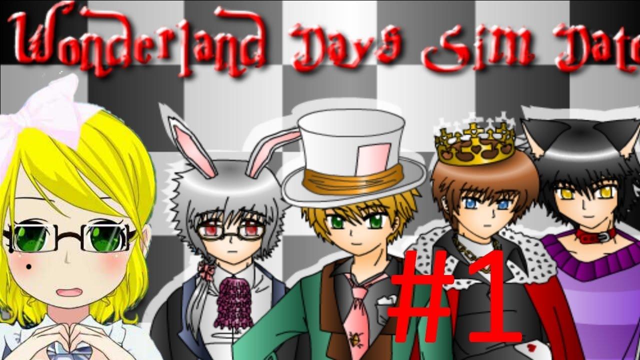 wonderland days sim date pacthesis