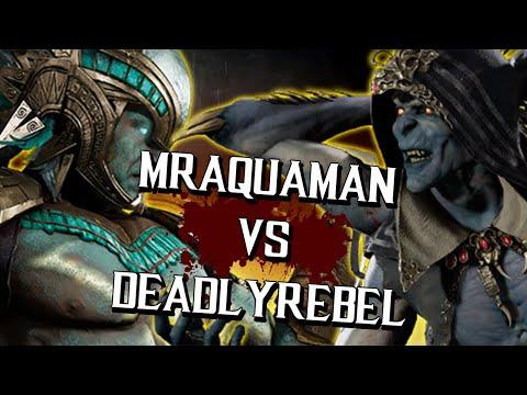 I KAHN'T BELIEVE IT - MrAquaman (Kotal Kahn) Vs DeadlyRebel (Kollector/Raiden) FT10 Exhibition
