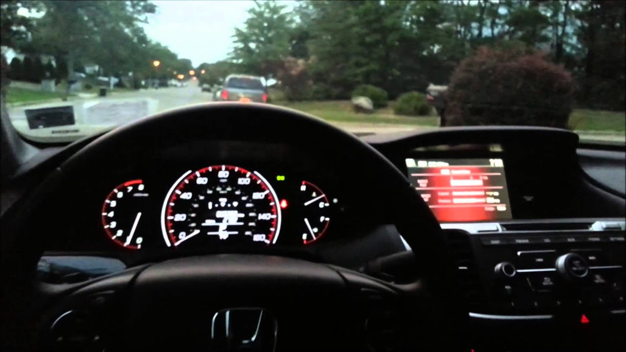 2013 Honda Accord Sport Walkaround U0026 Start Up (White Orchid Pearl)   YouTube