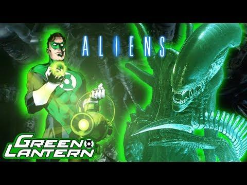 Green Lantern VS. Aliens Comic Issue 1 / Dark Horse Crossover