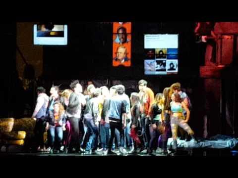 American idiot - Musical - Teatro della luna 4.2.17