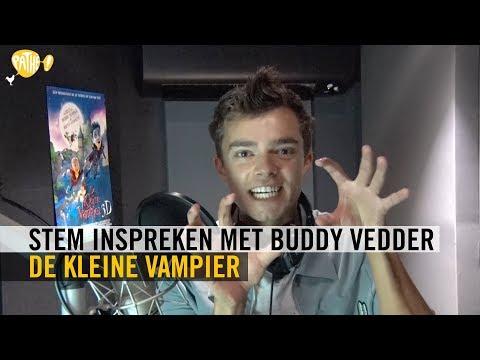 De Kleine Vampier - stem inspreken met Buddy Vedder - Pathé